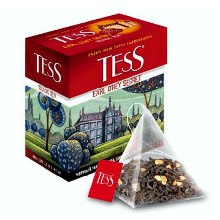 Чай тесс пирамидках
