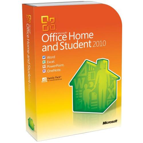 Программное обеспечение MicrosoftOffice Home and Student 2010 32/64 Russian