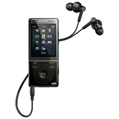 Аудиоплеер Sony NWZ-E474 Black
