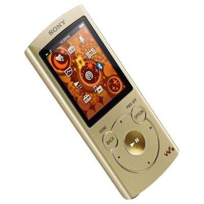 Аудиоплеер Sony NWZ-S764 Gold