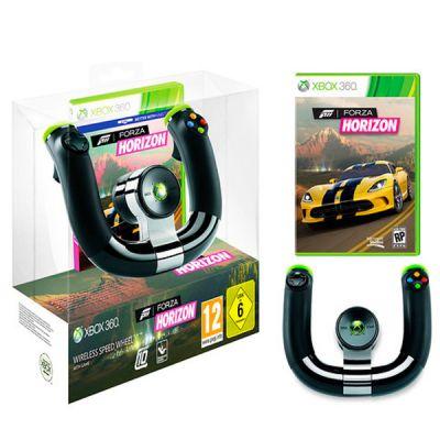 Microsoft Беспроводной руль для xbox 360 + игра Forza Horizont 2ZJ-00040