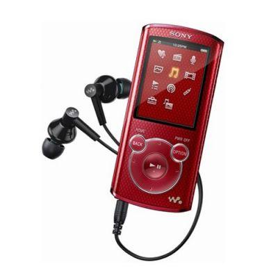 Аудиоплеер Sony NWZ-E473 Red