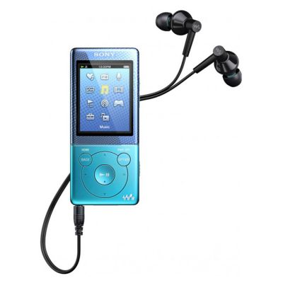 Аудиоплеер Sony NWZ-E473 Blue