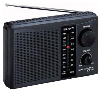 Sony радиоприемник ICF-F12