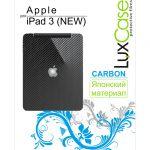 Защитная пленка LuxCase на заднюю крышку Apple iPad 3 Carbon/Black (80240)