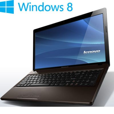 Ноутбук Lenovo IdeaPad G580 Brown 59358615 (59-358615)