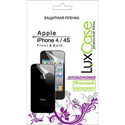 Защитная пленка LuxCase для Apple iPhone 4/4S (Антибликовая) х2 (80231)