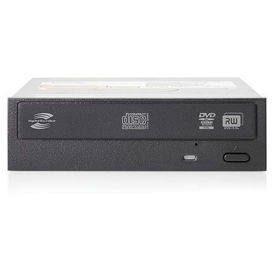 HP SATA DVD rom, Half-Height, JackBlack Optical Drive for ML350p/350e Gen8 624189-B21