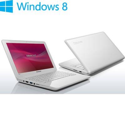 Ноутбук Lenovo IdeaPad S206G White 59343621 (59-343621)
