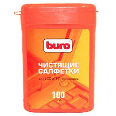 Buro малая туба с чистящими салфетками для lcd, TFT-мониторов BU-tft