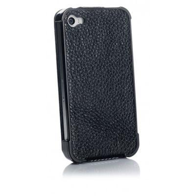 ����� Yoobao Slim leather case ��� iPhone 4/4S black