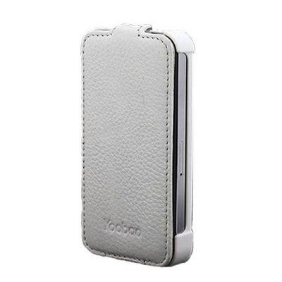 Чехол Yoobao Slim leather case для iPhone 4/4S white