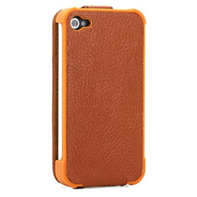 Чехол Yoobao Slim leather case для iPhone 4/4S brown