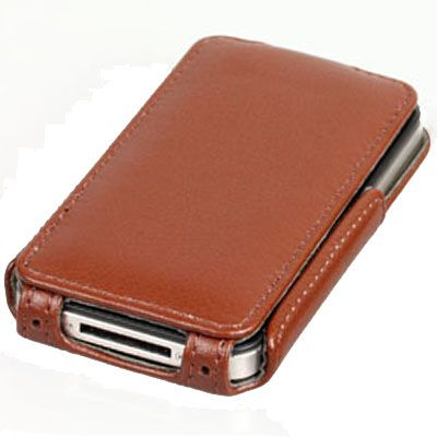 Чехол Yoobao Lively Leather Case для iPhone 4/4S Brown