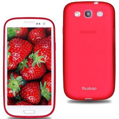 Чехол Yoobao Glow Protect Case для Samsung Galaxy S3 Red