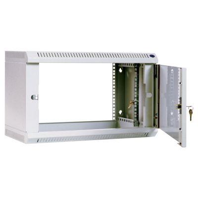 Шкаф ЦМО телекоммуникационный настенный 6U (600х300) дверь стекло ШРН-6.300