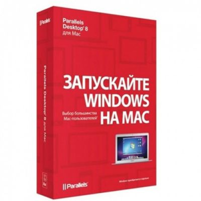 ����������� ����������� Parallels Desktop 8 for Mac Retail Box Corp ru PDFM8L-BX1-RU