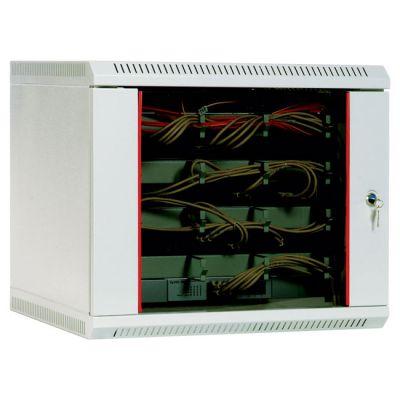 Шкаф ЦМО телекоммуникационный настенный 15U (600х650) дверь стекло ШРН-15.650