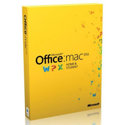 ����������� ����������� Microsoft Office Mac HomeStdntFamilyPK 2011 Russian DVD W7F-00022