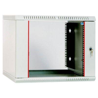 Шкаф ЦМО телекоммуникационный настенный разборный 6U (600х350) дверь стекло ШРН-Э-6.350