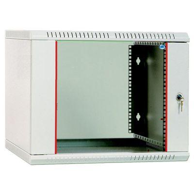 Шкаф ЦМО телекоммуникационный настенный разборный 15U (600х350) дверь стекло ШРН-Э-15.350