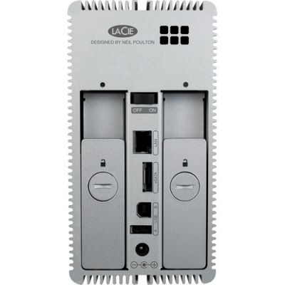 Сетевое хранилище LaCie двухдисковое LaCie 2big 6TB 2000226
