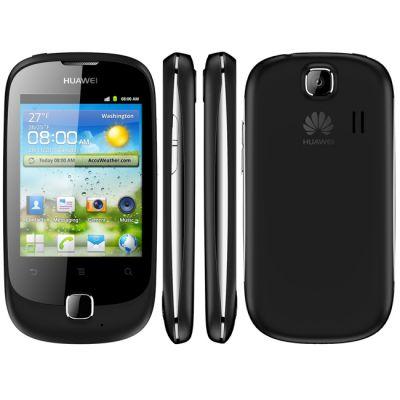 Смартфон, Huawei Ascend Y 100 Black (U8185)