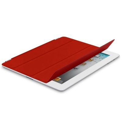 Чехол Apple iPad mini Smart Cover Leather (Red) MD828ZM/A