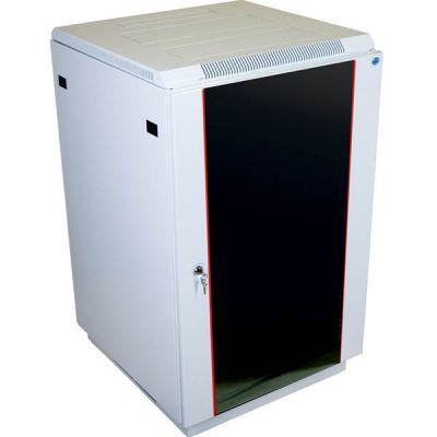 Шкаф ЦМО телекоммуникационный напольный 27U (600x1000) дверь стекло ШТК-М-27.6.10-1ААА
