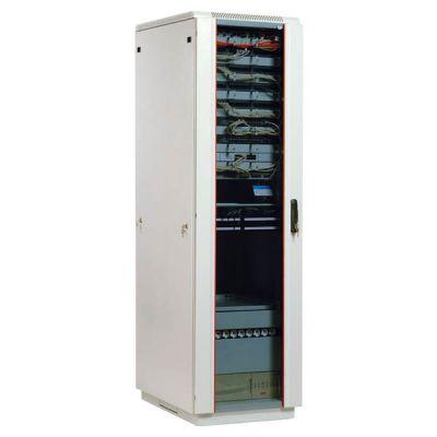 Шкаф ЦМО телекоммуникационный напольный 42U (600x600) дверь стекло ШТК-М-42.6.6-1ААА