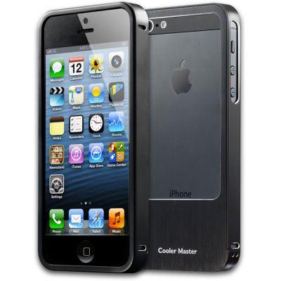 Чехол Cooler Master Aluminum Bumper для iPhone 5 (80pcs/box) C-IF5C-ALSL-KK