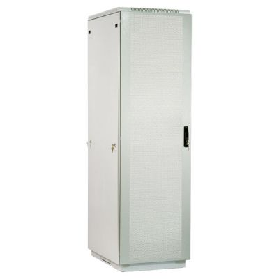 Шкаф ЦМО телекоммуникационный напольный 42U (600x1000) дверь перфорированная 2 шт. ШТК-М-42.6.10-44АА