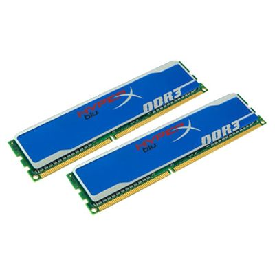 Оперативная память Kingston dimm 16GB 1600MHz DDR3 Non-ECC CL10 (Kit of 2) HyperX Blu KHX1600C10D3B1K2/16G