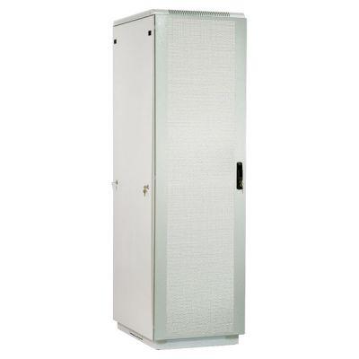 Шкаф ЦМО телекоммуникационный серверный проф напольный 48U (800x1000) дверь перфорированная 2 шт., цвет ШТК-СП-48.8.10-44АА-9005