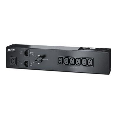 Аксессуар APC Service Bypass pdu, 230V 10AMP W/ (6) iec C13 out; iec C14 in SBP1500RMI