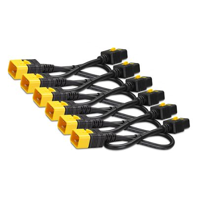 Кабель APC Power Cord Kit (6 pack), Locking, iec 320 C19 to iec 320 C20, 16A, 208/230V, 1.2m AP8714S