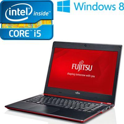 Ультрабук Fujitsu LifeBook UH572 Red VFY:UH572MF292RU
