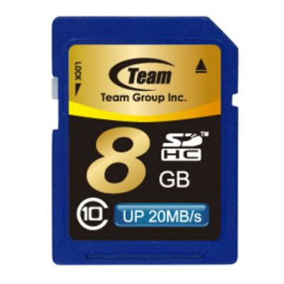 Карта памяти TEAM 8GB sdhc Class 10 (765441411791) TSDHC8GCL1001