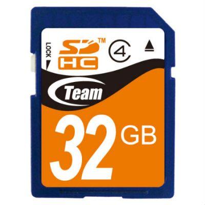 Карта памяти TEAM 32GB sdhc Class 4 (765441411975) TG032G0SD24X