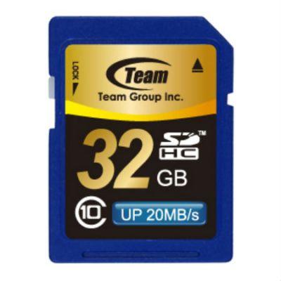 Карта памяти TEAM 32GB SDHC Class 10 (765441411999) TSDHC32GCL1001