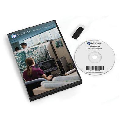 Опция устройства печати HP Комплект обновления HP Designjet PostScript/PDF CQ745A