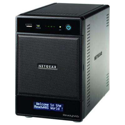 Сетевое хранилище Netgear ReadyNAS Pro 4 на 4 SATA диска (без дисков) RNDP4000-100EUS