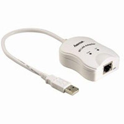 Hama Адаптер для подключения к локальной сети Ethernet H-52124