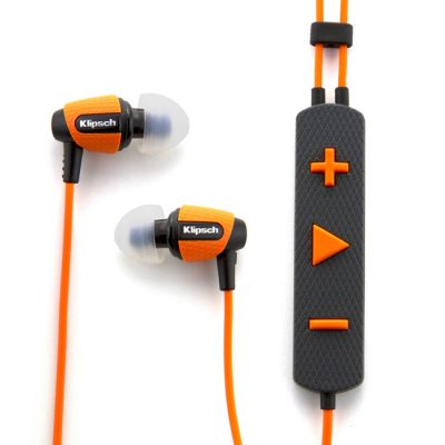 Наушники с микрофоном Klipsch Image S4i Rugged-Orange