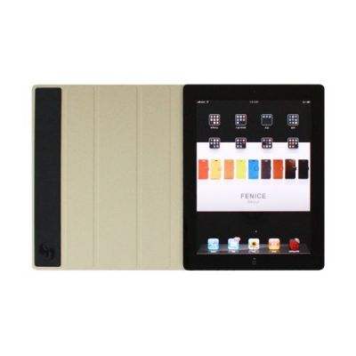 Чехол Fenice Creativo для iPad 2 + New iPad, jet black F02-BK-NEWIP