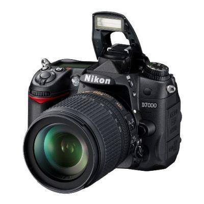 Зеркальный фотоаппарат Nikon D7000 Kit 18-200 vr II [VBA290KR04]