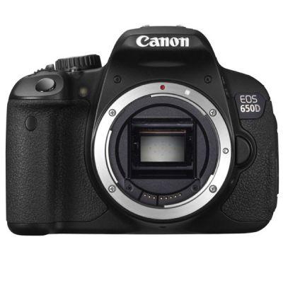 Зеркальный фотоаппарат Canon eos 650D Body [6559B001]