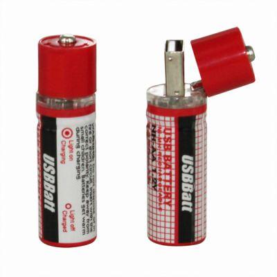Аккумулятор CBR USB (2шт)
