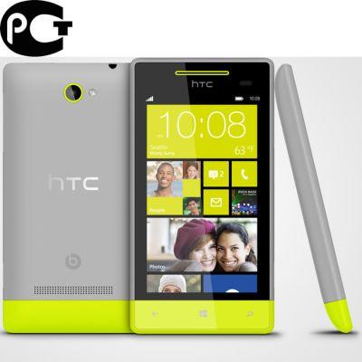 Смартфон HTC Phone 8s Grey/Yellow (WP8)