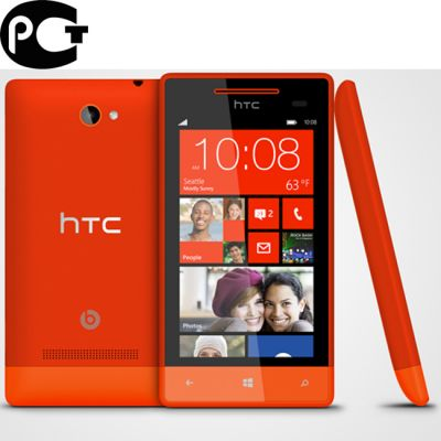 Смартфон, HTC Phone 8s Orange (WP8)